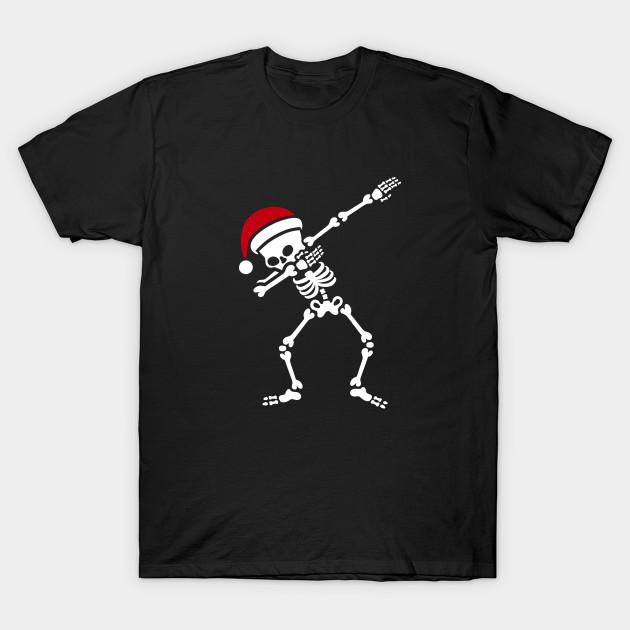 Santa dab / dabbing skeleton - Christmas - T-Shirt | TeePublic