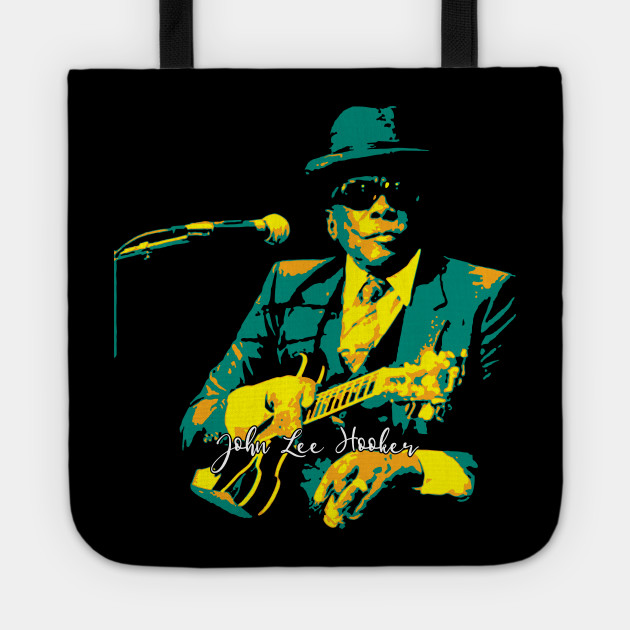 John Lee Hooker pop art. an American blues singer. songwriter. and guitarist. sharecropper.