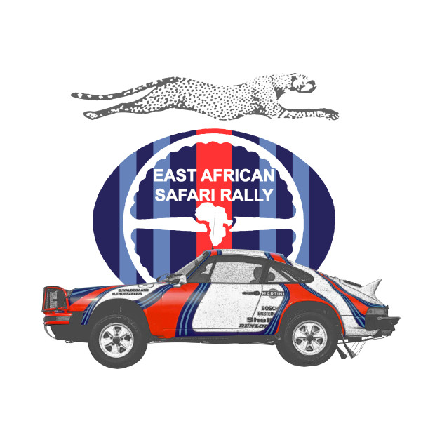 Porsche 911 East African Safari Rally 1978 911 Safari T Shirt Teepublic