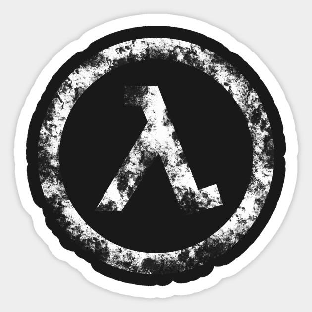 Half Life Lambda Symbol Game Sticker Teepublic