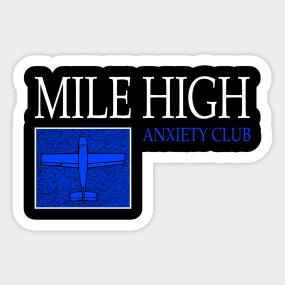 Aviation Flight School Stickers | TeePublic