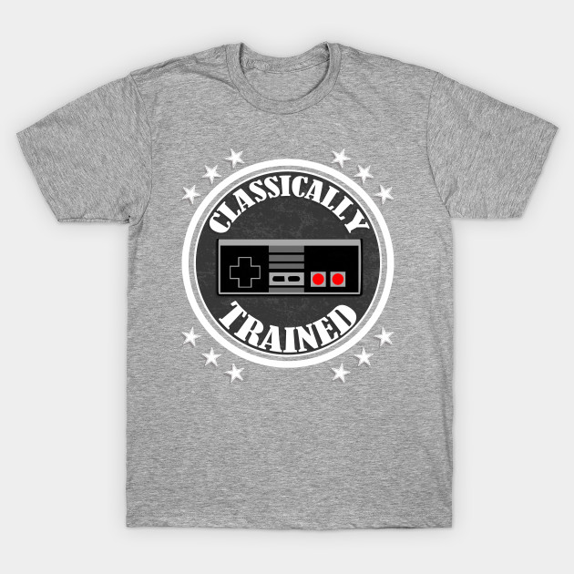 Classically Trained Retro Vintage Video Game Controller