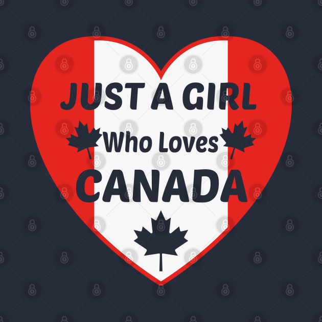 just a girl who loves canada canada day