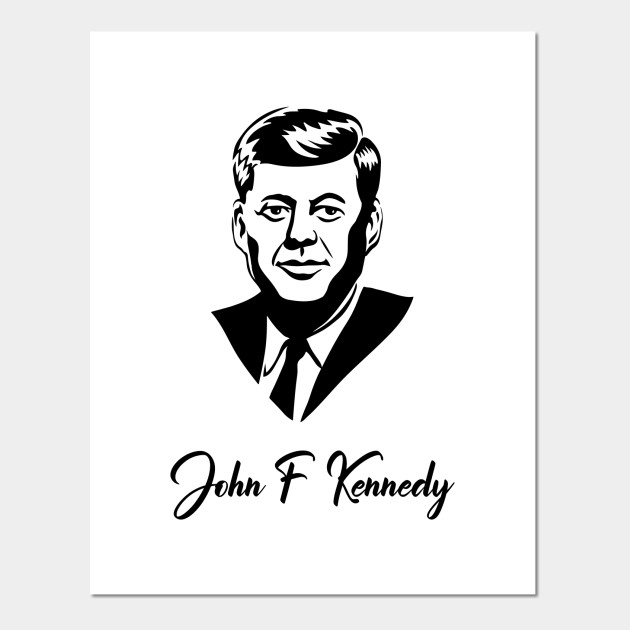 ART PRINT POSTER PAINTING PORTRAIT PRESIDENT JOHN KENNEDY JFK DEMOCRAT NOFL0114