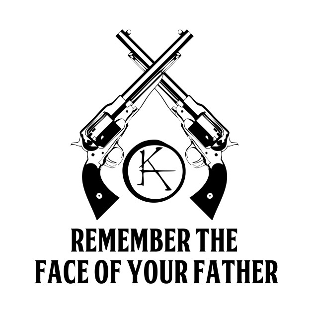 Remember The Face Of Your Father The Dark Tower T Shirt Teepublic