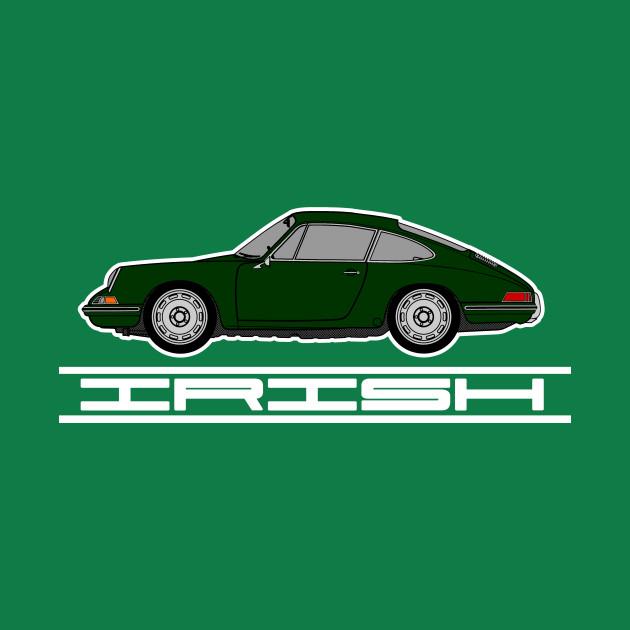 Irish (Green) Pride T-Shirt - Porsche 911
