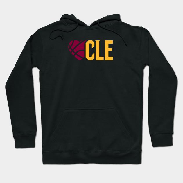 bac855b7fc2 Love CLE! - Cleveland Cavaliers - Hoodie