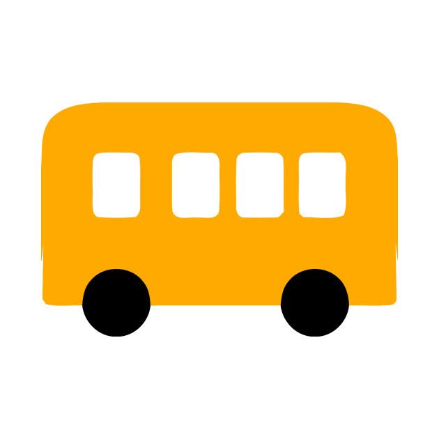 Yellow School Bus Emoticon