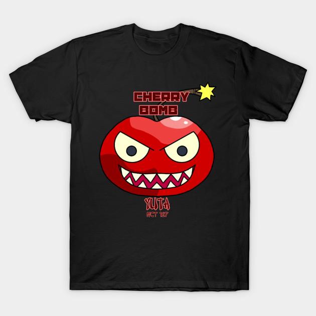 c8707f467 Cherry Bomb Yuta - Nct127 - T-Shirt | TeePublic