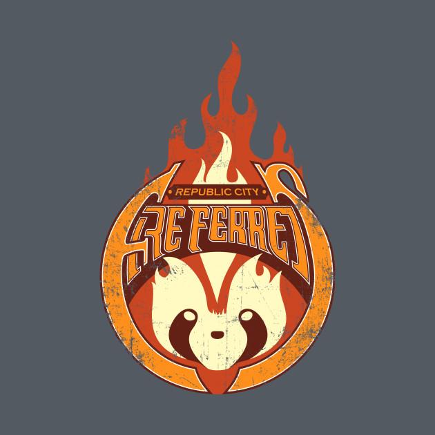 Vintage Republic City Fire Ferrets