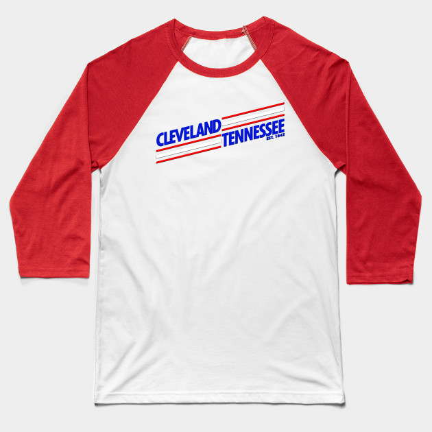 Cleveland Tennessee - Skewed Baseball T-Shirt