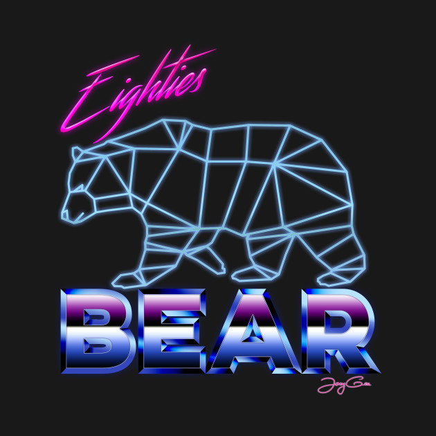eighties bear