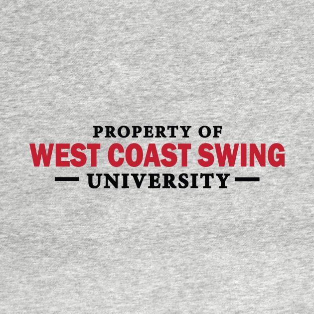 Property of wcs university dancing t shirt teepublic for Property of shirt designs