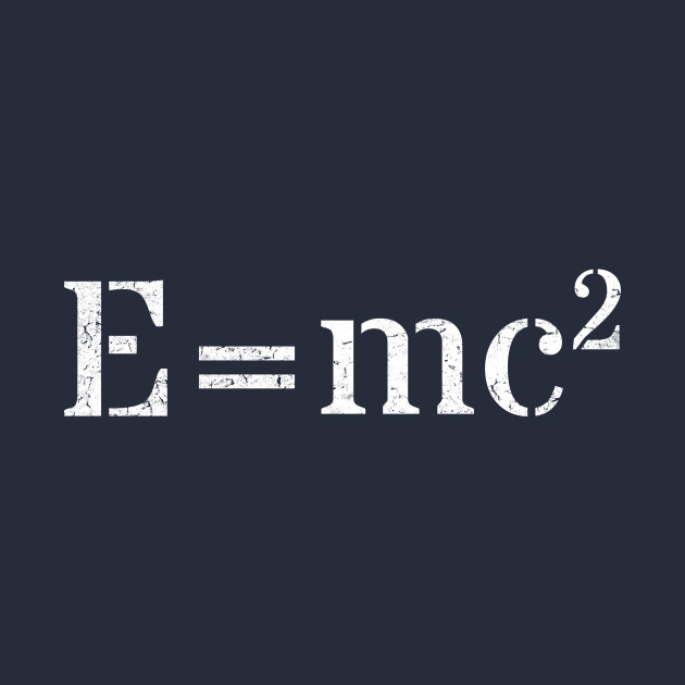 e mc2 E = mc2 energy equals mass times the speed of light squared e= energy m=mass c= the speed of light 2= squared (a number times itself) a famous.