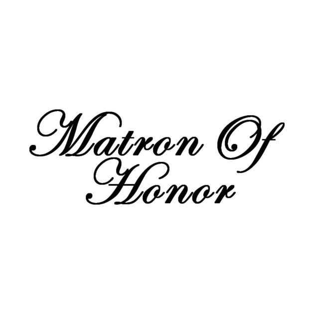 matron of honor matron of honor tote teepublic