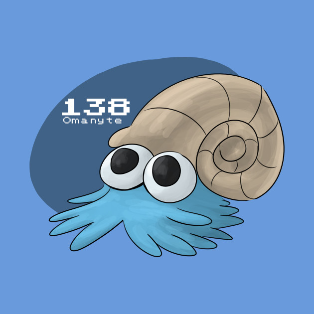 Pokemon #138: Omanyte