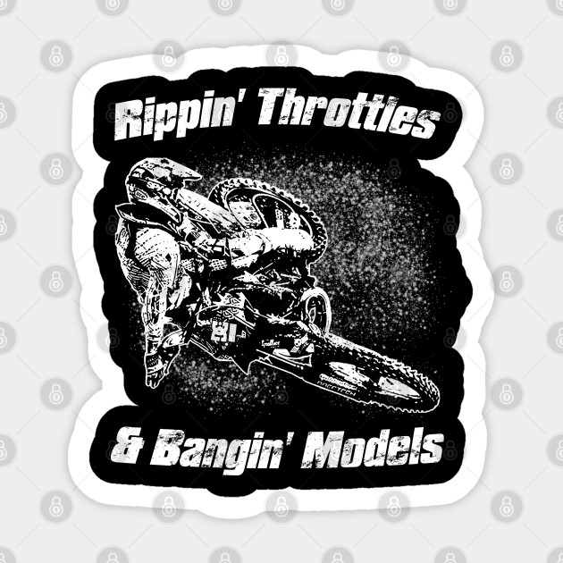 Americas Best Buys Motocross Rippin Throttles and Bangin Models Hoodie