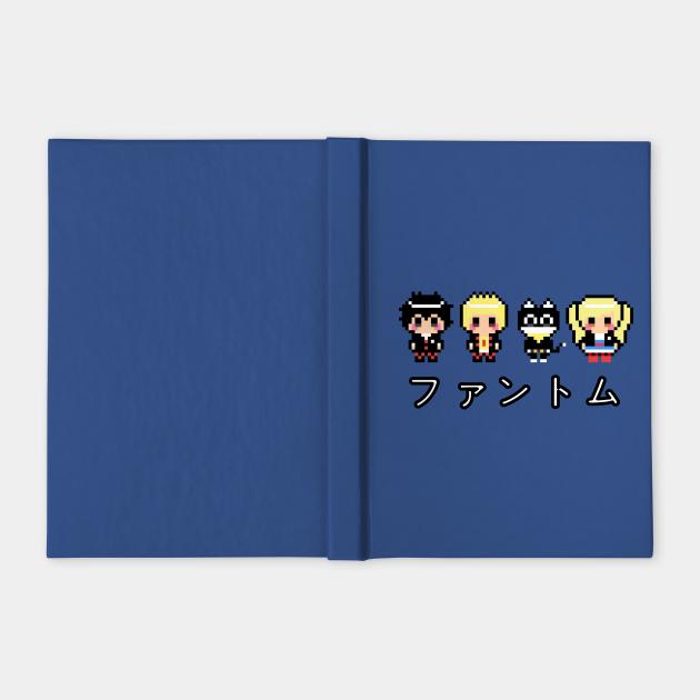 "Persona 5 Phantom Thieves ""Phantom"" Kanji 8-Bit Pixel Art"