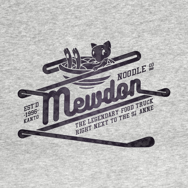 Mewdon Noodle Co [Black]