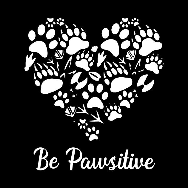Be Pawsitive Heart Gift For Vet Tech