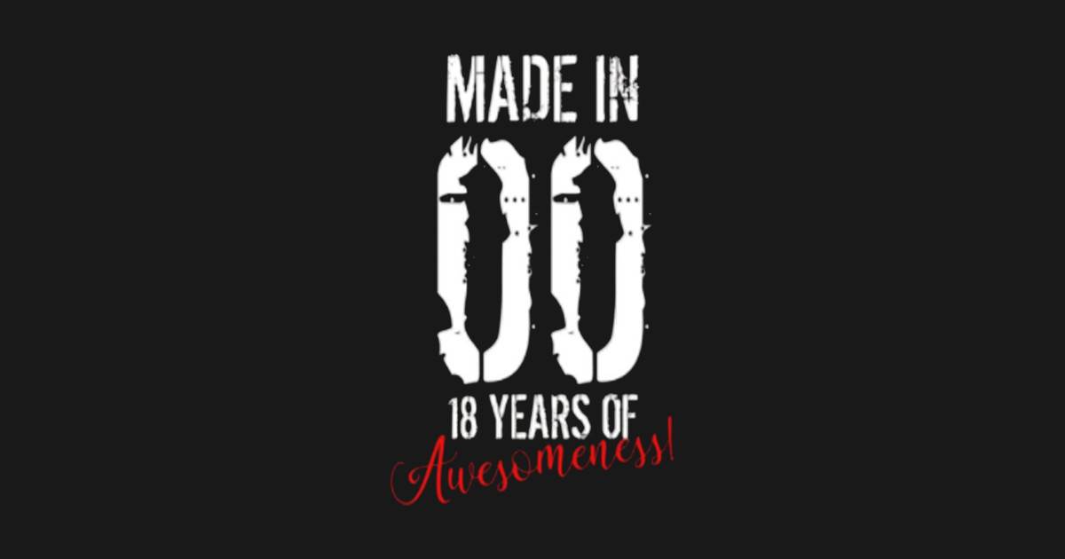 18 Year Old Birthday Gift Shirt
