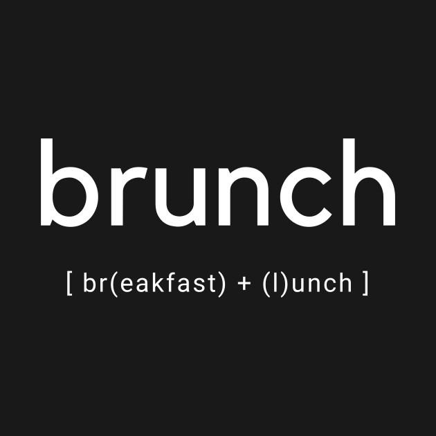 Brunch - breakfast - lunch