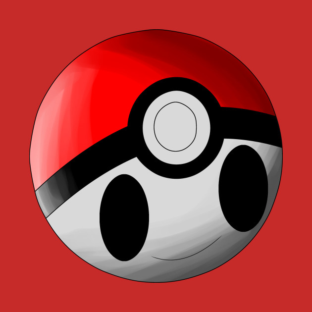 kawaii pokemon ball pokeball tote teepublic