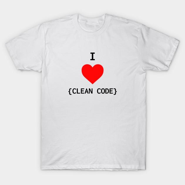 Negozio di sconti online,Clean Code Tshirt