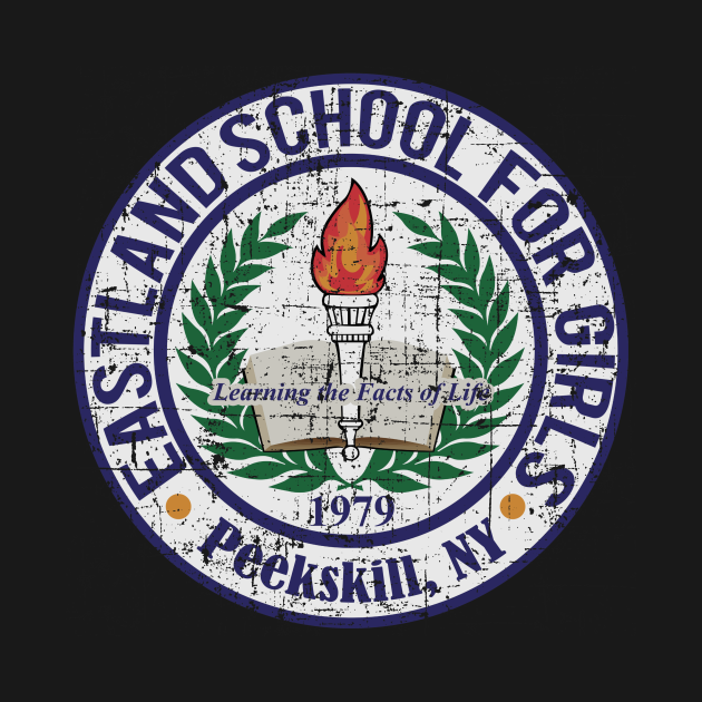 Eastland School for Girls, distressed and faded