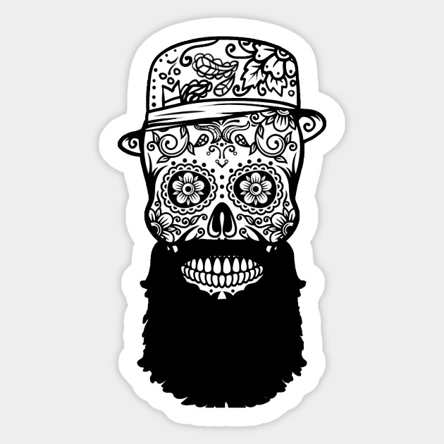 Hipster Mexican Skull Tattoo Style Bw Tattoo Skul Hipster