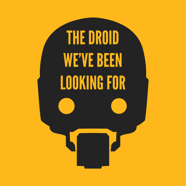 The Droid We've Been Looking For