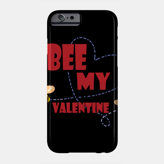 Beekeeper T Shirt  Bee My Valentine Couples Valentines Day Phone Case