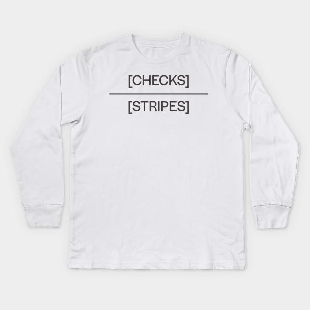 f277cba7 Checks over Stripes - Travis Scott Rapper - Kids Long Sleeve T-Shirt ...