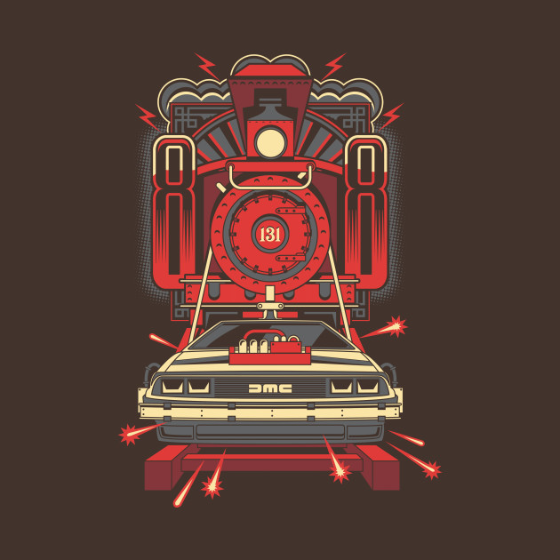 Back To The Future III T-Shirt