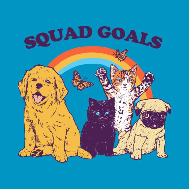 261d0ce39 Squad Goals - Animals - T-Shirt | TeePublic