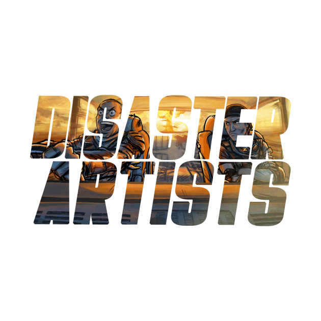 Disaster Artists Cover Art In-Text Design
