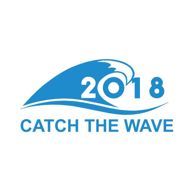 Catch The Blue Wave Vote Blue 2108 Blue Wave 2018 T