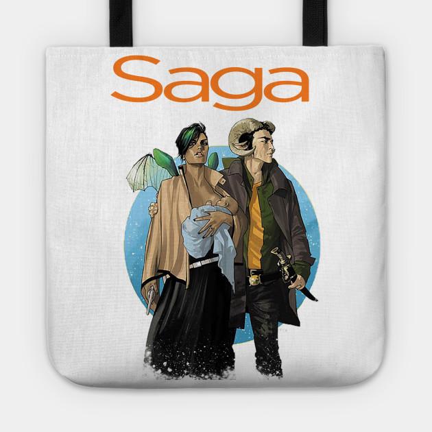 Saga issue 1 w/Logo