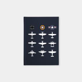 Warbirds Notebooks | TeePublic