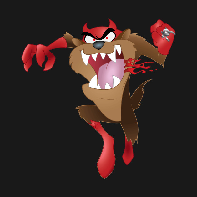 Tasmanian Devil Red Lantern