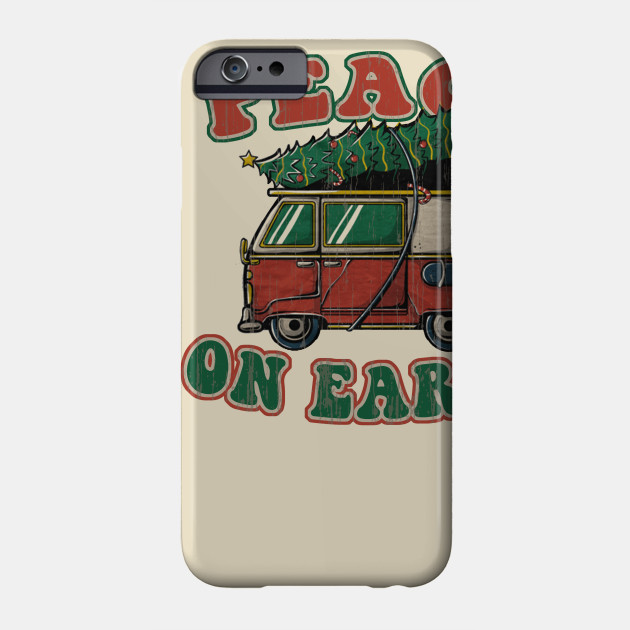 Peace on earth Bus Phone Case