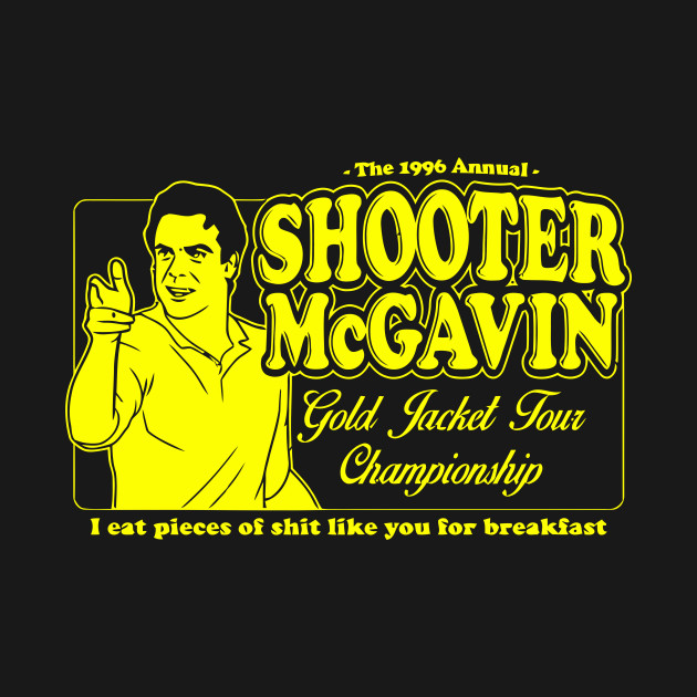 Shooter McGavin Gold Jacket Tour Championship