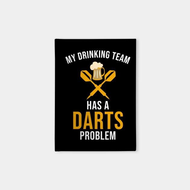 My drinking team has a darts problem