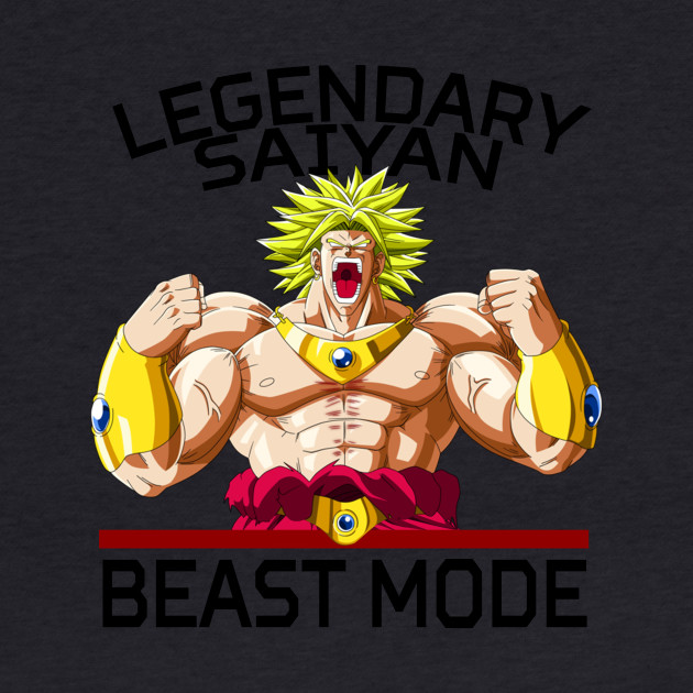 Beast mode - Legendary Saiyan Broly