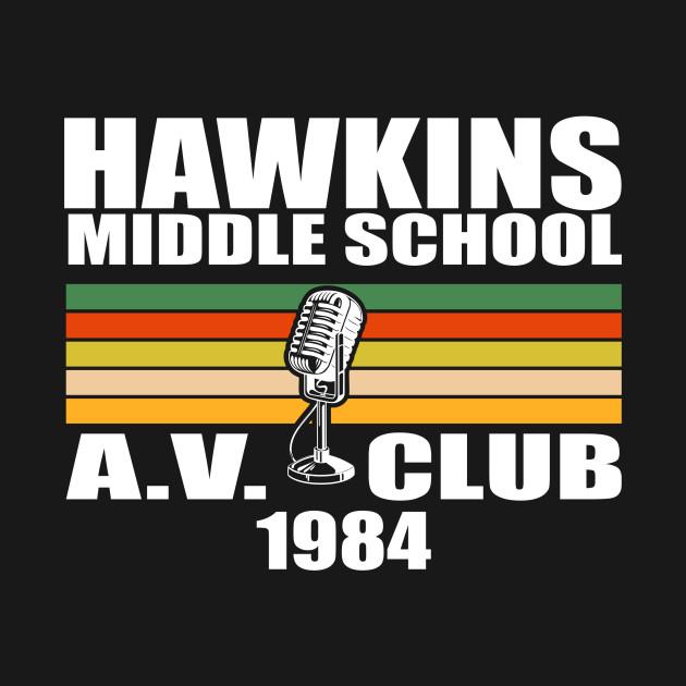 Stranger Things - Hawkins Middle School