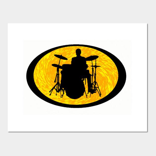Drum Roll Please - Drummer - Wall Art | TeePublic