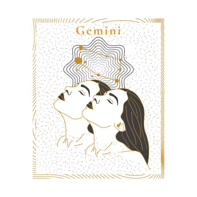 Gemini | Astrology Zodiac Sign Design