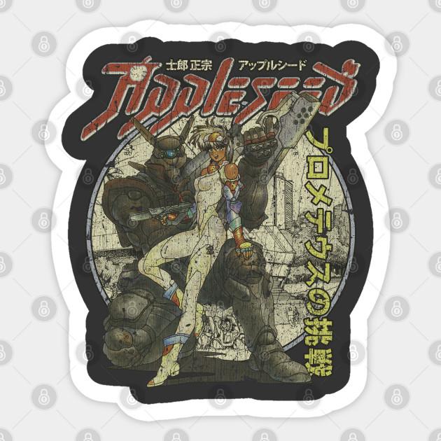 Appleseed Manga Sticker Teepublic