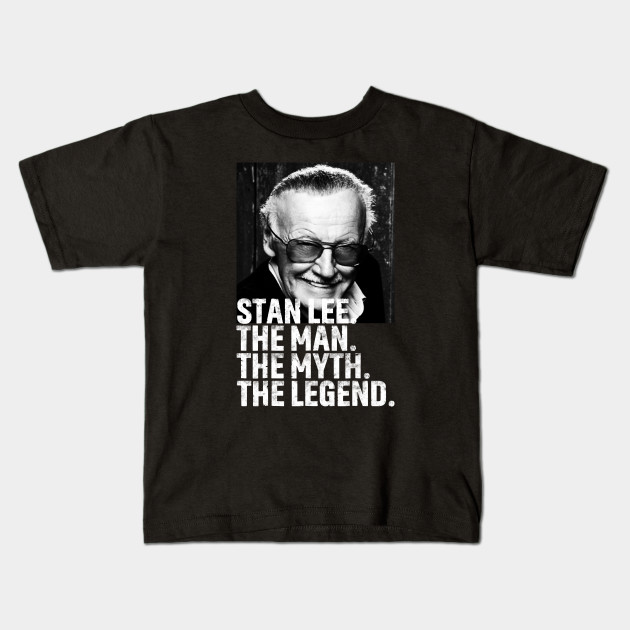 ab122b39 Man Of Many Face - Stan Lee Tribute - Kids T-Shirt | TeePublic