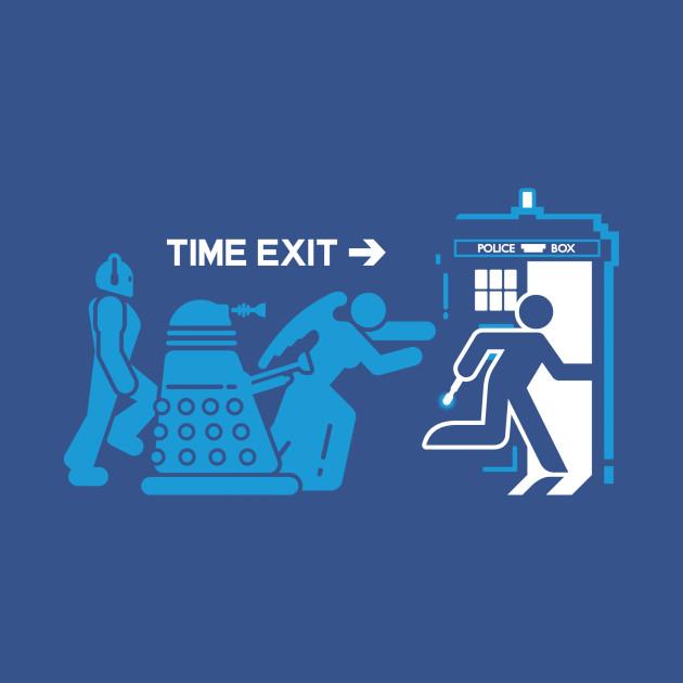 Time Exit - blue